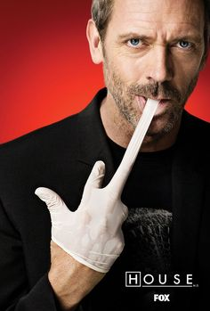"Hugh Laurie of ""House"""
