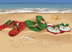 flip flops christmas - Google Search
