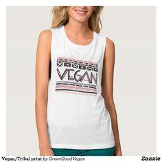 Vegan/Tribal print