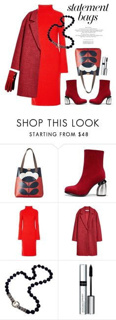 """#StatementBags"" by vinograd24 ❤ liked on Polyvore featuring Orla Kiely, The Row, By Terry, Christian Lacroix and statementbags"