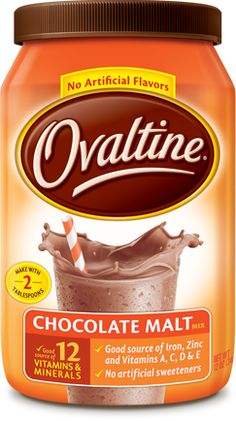 Chocolate Malt Ovaltine ~ the old recipe tasted better. Been drinkin' this stuff every day as long as I can remember... As a picky eater, it probably saved my life. ;P