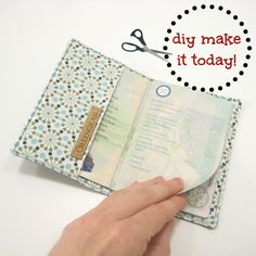 Passport Cover (idea)