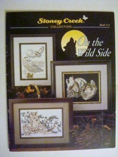 CROSS-STITCH-Booklet-Stoney-Creek-111-On-the-Wild-Side-Animals-Birds-19-Page