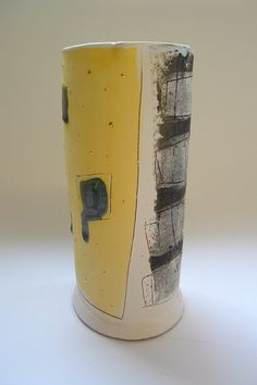 Cylinder form 2004 © Linda Styles Ceramics