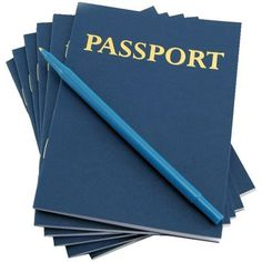 super cute for a travel or airplane theme party. Hygloss Products Inc. My Passport Book 12 Books