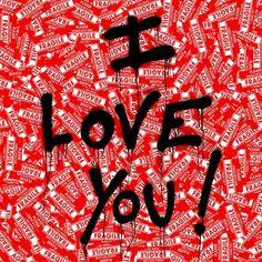 I love you print poster Brainwash fragile pop art poster Justin Bieber street grafitti wall decor gift girlfriend boyfriend husband wife Pop Art Posters, Cool Posters, Poster Prints, Art Prints, Street Art Graffiti, Justin Bieber Posters, Professional Poster, Valentine Gifts For Girlfriend, Valentines