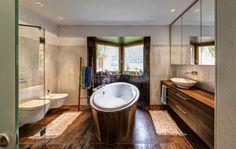 Stylish bathroom design