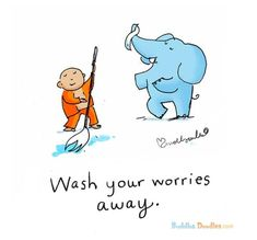 Buddha Doodles - Part 2 Buddha Thoughts, Positive Thoughts, Positive Quotes, Mood Quotes, Tiny Buddha, Little Buddha, Motivational Messages, Inspirational Quotes, Cool Words