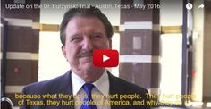 You asked for it, you got it. Here is an update on Dr. Stanislaw Burzynski. We sent our camera crew down to Austin, Texas to gather the latest news as this trial that continues. Here is a portion of the transcription and video link of the interview between our film crew and Dr. Burzynski: