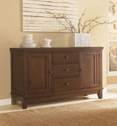 Holloway Buffet by Ashley - Home Gallery Stores
