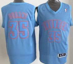 ... Oklahoma City Thunder 35 Kevin Durant Revolution 30 Swingman Light Blue  Big Color Jersey ... 499417e4e