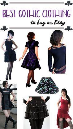 Best Gothic Clothing Brands on Etsy