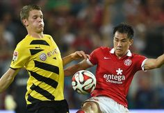 Mainz 2-0 Borussia Dortmund: BVB pay penalty for Immobile's profligacy