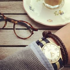 NATO straps are real trendy now, but sometimes they just don't work. Like with a vintage Omega Constellation.