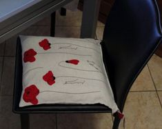 Check out our chair pads & covers selection for the very best in unique or custom, handmade pieces from our shops. Chair Pads, Home And Living, Cover, Handmade, Home Decor, Tela, Chair Covers, Toss Pillows, Hand Made