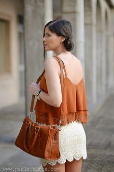 PAULA DEIROS SECRETS: Boho style with skirt #kissmylook
