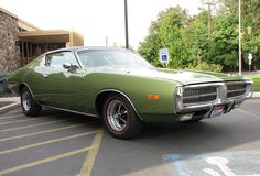 1972 Charger - Greeen !