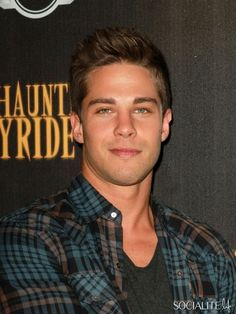Dean Geyer Attends The 4th Annual Los Angeles Haunted Hayride VIP Premiere Night