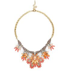 """Sole Society """"bead and stone statement necklace"""", $44.95 That is one big statement!  I love it"""