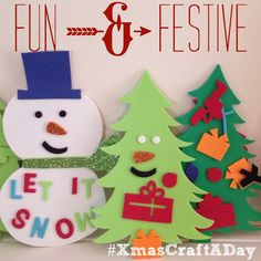 Cookie crafts, holiday crafts, and preschool Christmas crafts are filling our month. Share yours with #XmasCraftADay on Instagram.