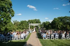 Outdoor wedding Kansas City | Eighteen Ninety Event Space | Kansas City Perfect Wedding Venue | Ceremony and Reception Spaces | Outdoor and Indoor | Eighteen Ninety - Platte City, MO