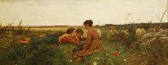 Francesco Gioli ~ Spring, 1879 ~ (Italian: 1849-1922)
