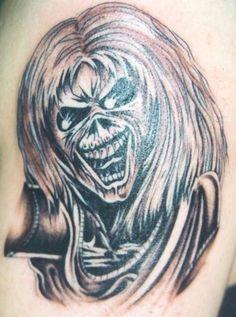ping google blog: Iron Maiden Tattoo