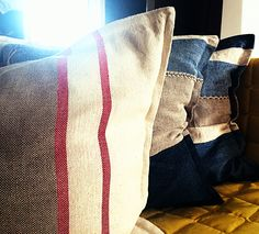 Linen pillows now in our Shop..by M