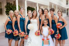 Teal Wedding Colors | Last and definitely not least, Thank you to the beautiful Davincourt ...