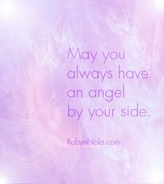 May you always have an angel by your side. ♥ Art by RobynNola.com
