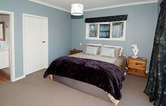 Resene Bounty  on  master bedroom walls