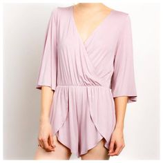 This Easter's going to be HOPPIN'! 🐰🐰 'On The Hunt' Tulip Bottom Romper, in Lilac, $35. Comment for PayPal or text 225.385.6004 to purchase. #dressmingle #romper #instagood #ootd