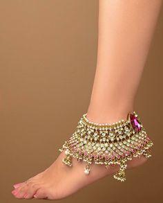 anklet jewelry pretty feet