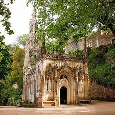 Quinta da Regaleira, Sintra #portugal #sintra #palace #garden #gardens #regaleira