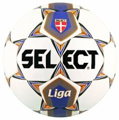 Select 02-449 Liga Soccer Ball - Size 4 by Select Sport America. $32.00. Select's graphically updated Liga soccer ball still has the solid combination of characteristics that have made this ball so popular at the club and scholastic levels. NFHS approved. Featuring 32-panel PU synthetic leather casing with a Latex bladder with synthetic valve; it's the perfect practice ball for college, youth or high school match play