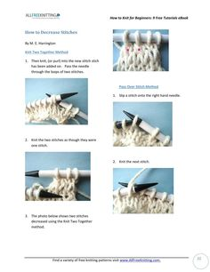#ClippedOnIssuu from How to knit for beginners 9 free tutorials