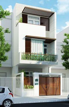 mặt đứng nhà phố - Tìm với Google | EXTERIOR / HOUSE | Pinterest ...