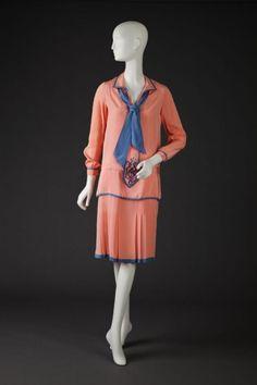 Dress 1927-1928 The Goldstein Museum of Design
