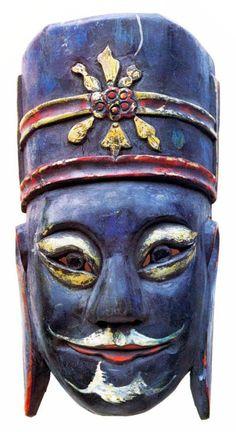 chinese masks | Mask chinese, Mongolian officer | Mask
