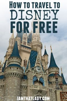 Are you looking to go to Disney with the family? I have a secret, what if I told you, you could go for free? Here is how.