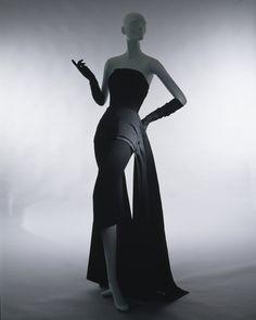 Christian Dior evening dress ca. 1949 via The Costume Institute of The Metropolitan Museum of Art