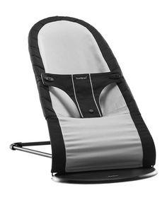 Another great find on #zulily! Black & Silver Babysitter Balance Chair by BabyBjörn #zulilyfinds
