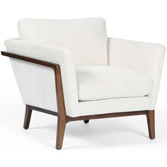 Available online only. Ships directly from the manufacturer. Imagine a sitting comfortable and lavishly? It is not that hard to imagine when you could be sitting in style and comfort with the Dash Chair. White Living Room Chairs, Living Room Decor Furniture, Living Rooms, Apartment Furniture, Family Rooms, Accent Furniture, Furniture Ideas, Furniture Design, Modern Armchair