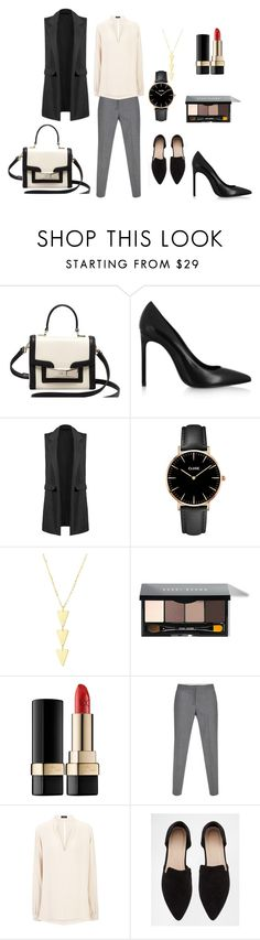 Sleevless blazer look for a meeting by dinorah-pesqueira on Polyvore featuring Joseph, Paul Smith, Yves Saint Laurent, ASOS, Kate Spade, CLUSE, Bobbi Brown Cosmetics, Dolce&Gabbana, women's clothing and women's fashion