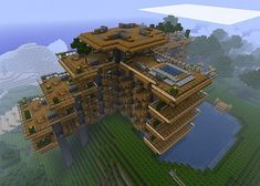 This project gave me the idea to build a hotel for the other players. I'll make it my own, so it won't be a replica but if you like this one consider looking at the entire project via this link; http://www.planetminecraft.com/project/hillside-manor/
