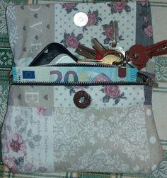 Pochette doppia tasca , by francycreations non solo idee regalo, 15,00 € su misshobby.com