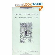 essays in idleness wikipedia