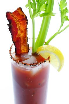 Peppered Bacon Bloody Mary