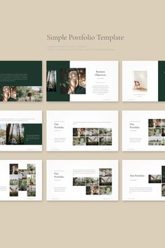 Business Ideas For Women Discover Portfolio PowerPoint Template Portfolio PowerPoint Template Design Portfolio Layout, Portfolio Presentation, Presentation Design, Layout Design, Template Portfolio, Presentation Folder, Creative Portfolio, Design Design, Flat Design
