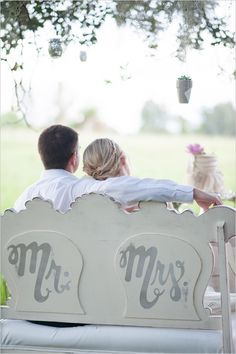 mr and mrs bench